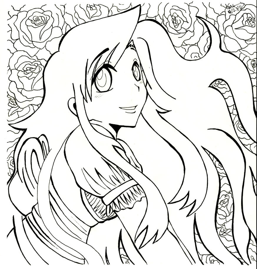 Roses WIP by mgcomix