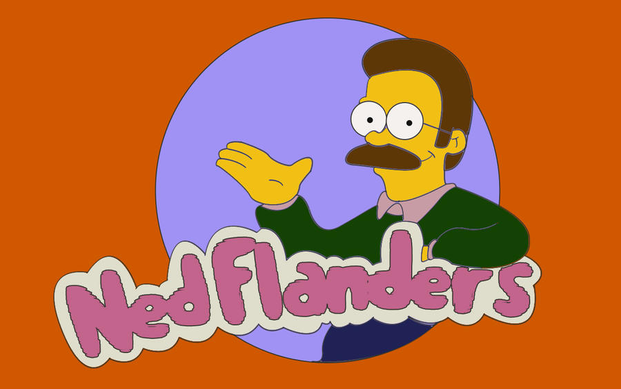 Ned Flanders by btcaloiro