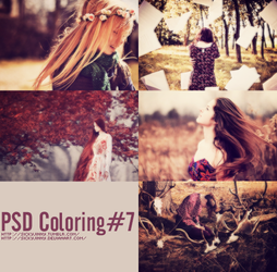PSD Coloring#7