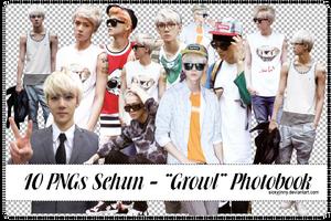Pack 10 PNGs Sehun by SickyJinny