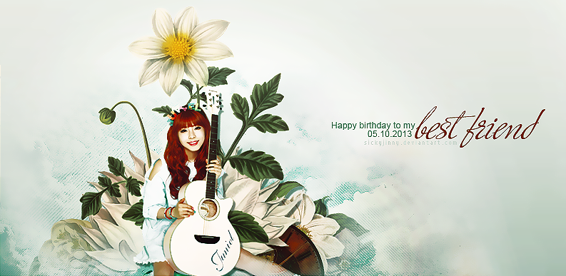 131005. Happy birthday to Bun by SickyJinny