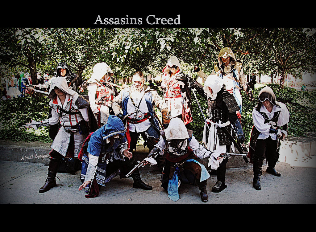 Assassin Creed Generations by aoifasd