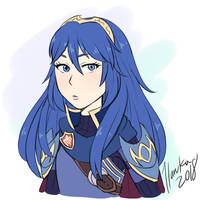 Lucina Sketch by Haruka-15