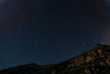 Night in Parang mountains