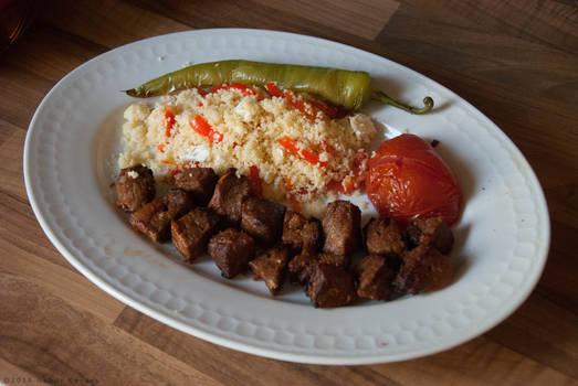 Calf Sish Kebab