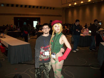 Anime Boston 2014: Cammy and I by williedude