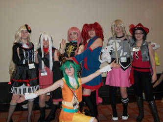 Anime Boston 2014: Guess the characters by williedude