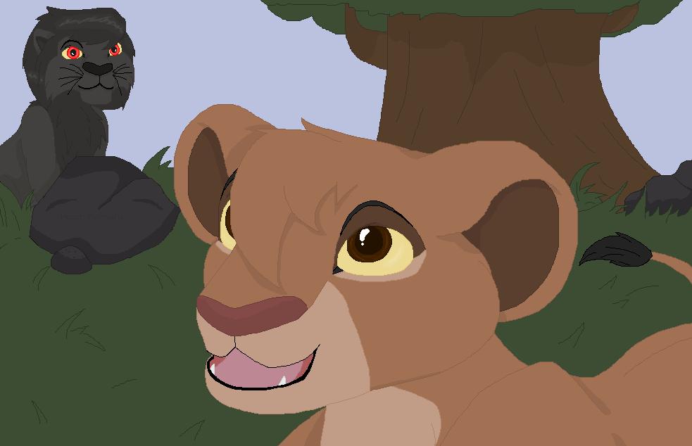 Teen Takara and Damien lions by TLK-Peachii