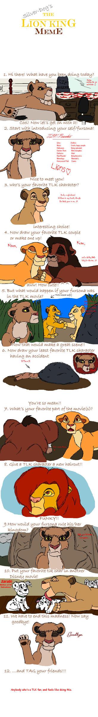 The Lion King Meme by TLK-Peachii