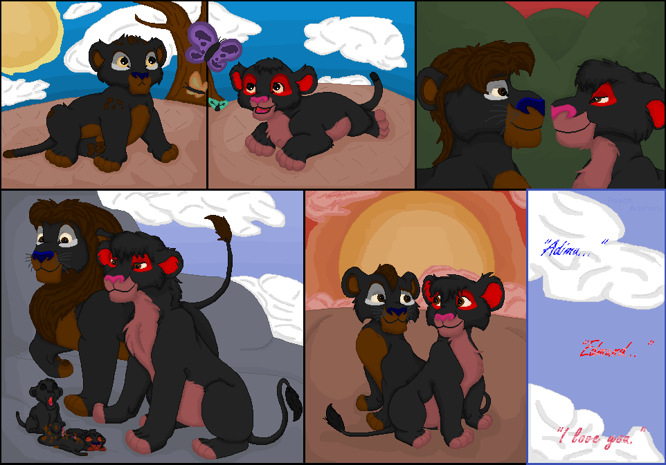 A tribute to Adimu and Edmund by TLK-Peachii