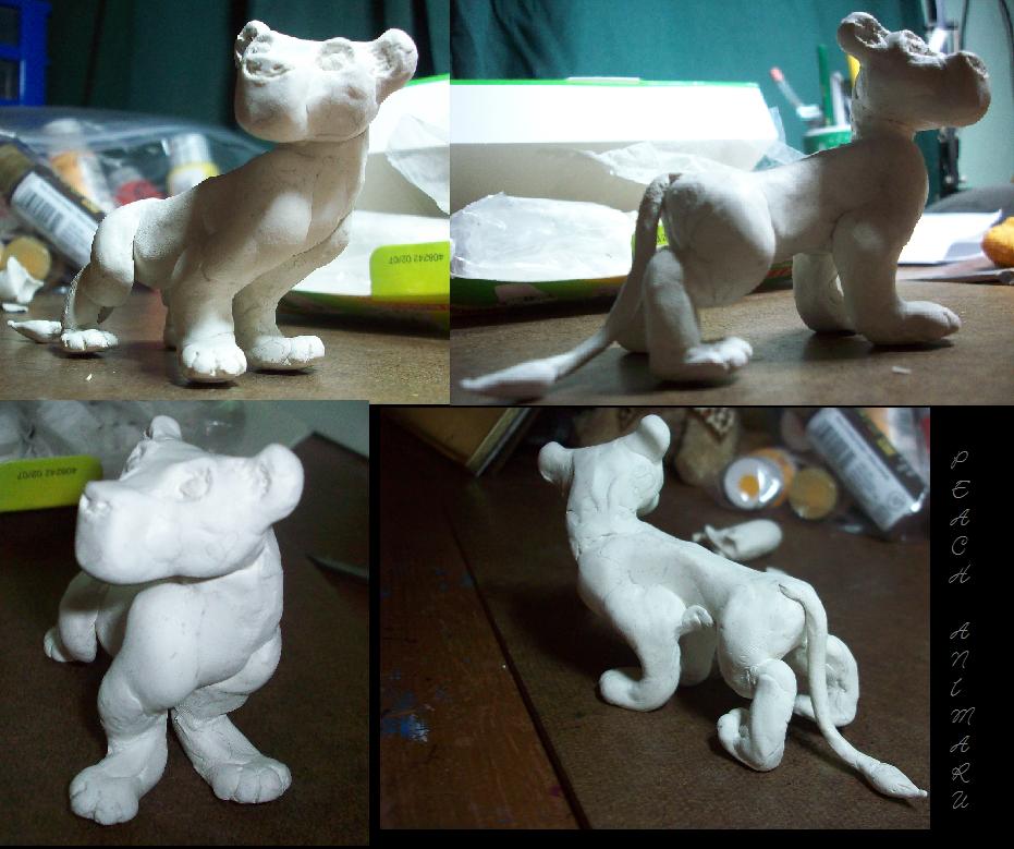 Kiara figure .Not yet baked. by TLK-Peachii