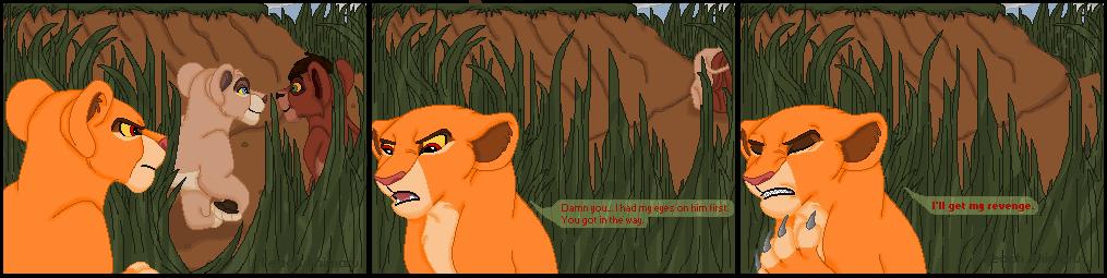 Kiara's promise of revenge by TLK-Peachii