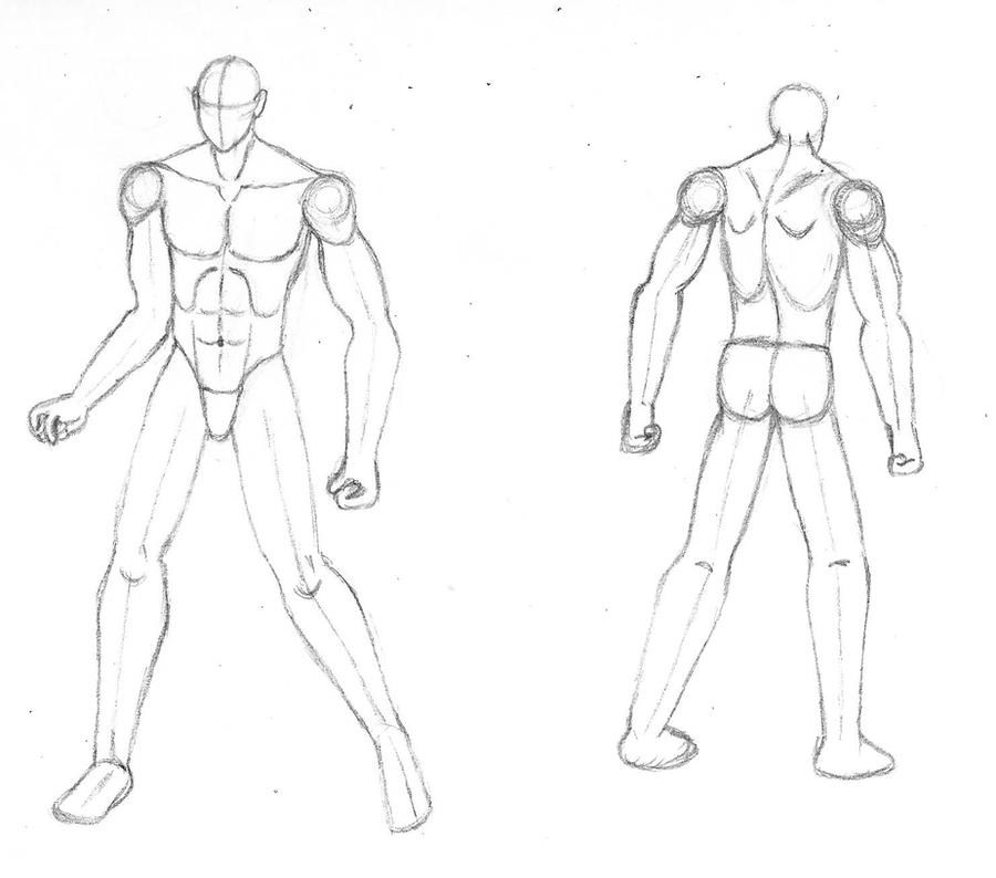 Male Body Template By BurgerForLunsh On DeviantArt