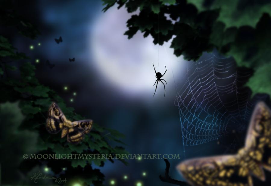 Spider Totem by MoonlightMysteria