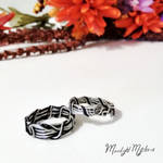 Wire Wrapped Rings by MoonlightMysteria