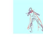 Animation practice: Luke scarf whip sketch by orribu