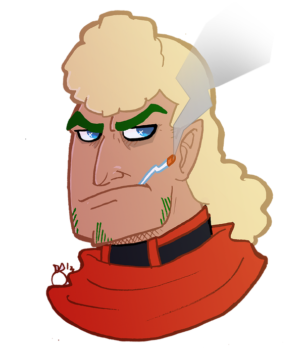 Venture Bros X TwistedFates: Brock Hirigani by orribu