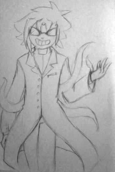 Tainted Scientist by orribu