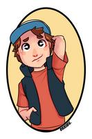[Fan Art] Gravity Falls- Dipper Pines by orribu