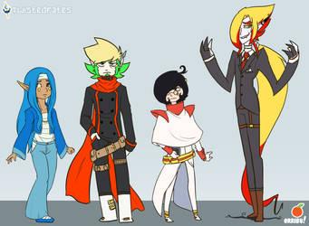 TwistedFates: Main Characters by orribu