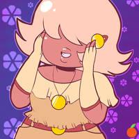 :.Steven Universe.: Casual Cutie Padparadscha
