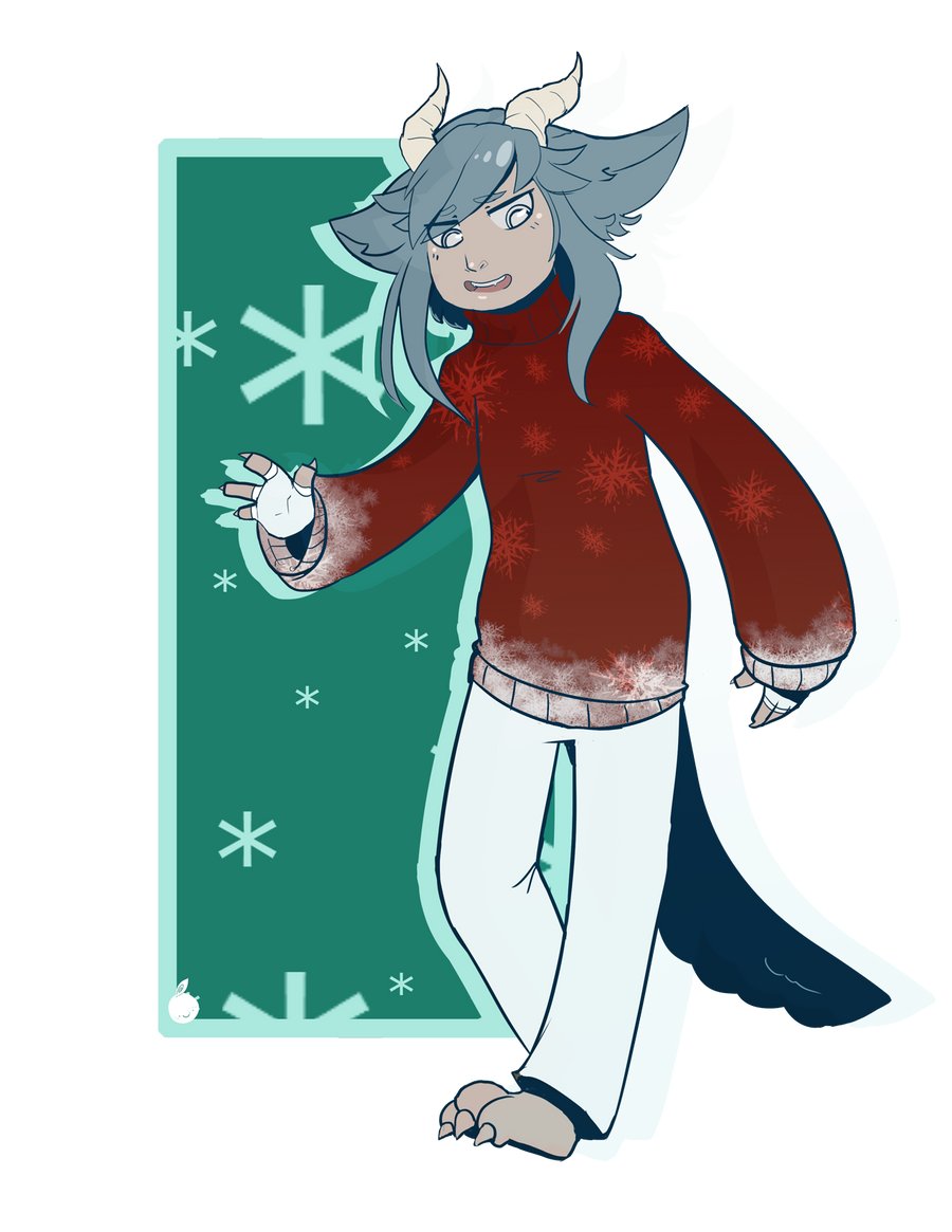 |Commission| Nifty Winter Sweater by orribu