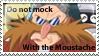 Eggman moustache Stamp