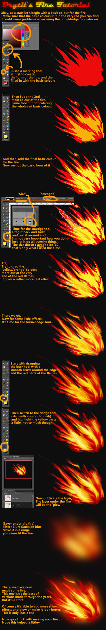 .:Fire Tutorial:. by Drytil