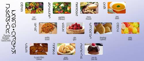 basya - popular foods by byrdiethemotley