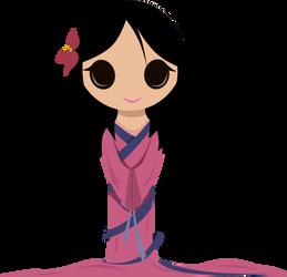 Mulan by vmkhappy-panda
