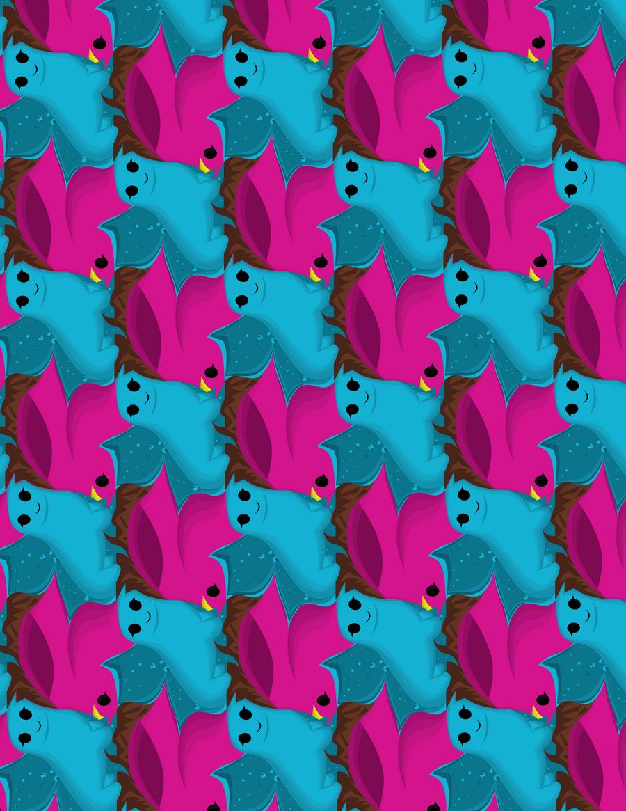 dog tessellation art - photo #6