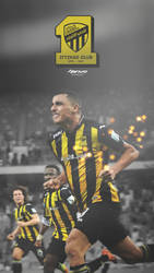ITTIHAD FC CLUB  - POSTER by Naif1470