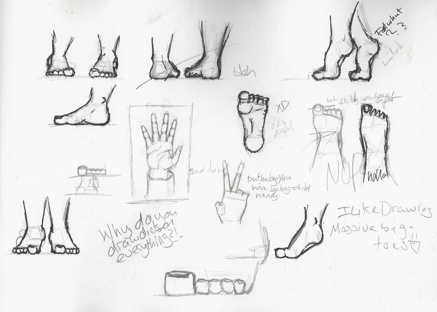 Feet Practice See I Can Draw Kinda By Mystrothedefender On Deviantart