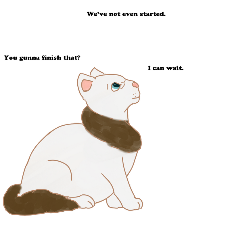 Fat Cat Alfred by MystroTheDefender