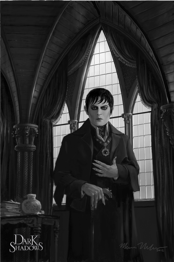 barnabas collins by mark molchan by markmolchan
