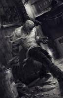 M. Frankenstein by markmolchan