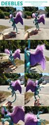 Deebles Dragon Glue Sculpture! by AzeFish