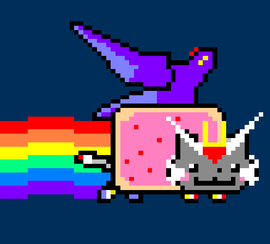 Nyan Cat Strike Freedom by StormL