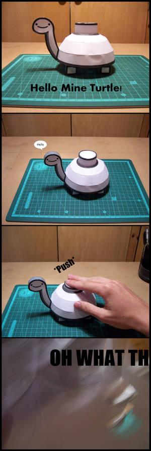 Mine Turtle Papercraft