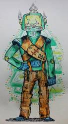 hazyboy by CosmicYan