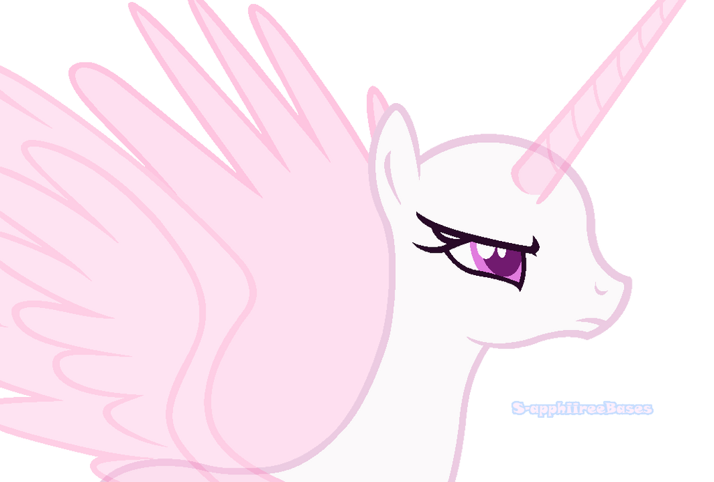 MLP Base #30 Angry Alicorn By MalachiteBases On DeviantArt