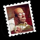 Weird Homer Simpson Mail Icon by EnigMattic