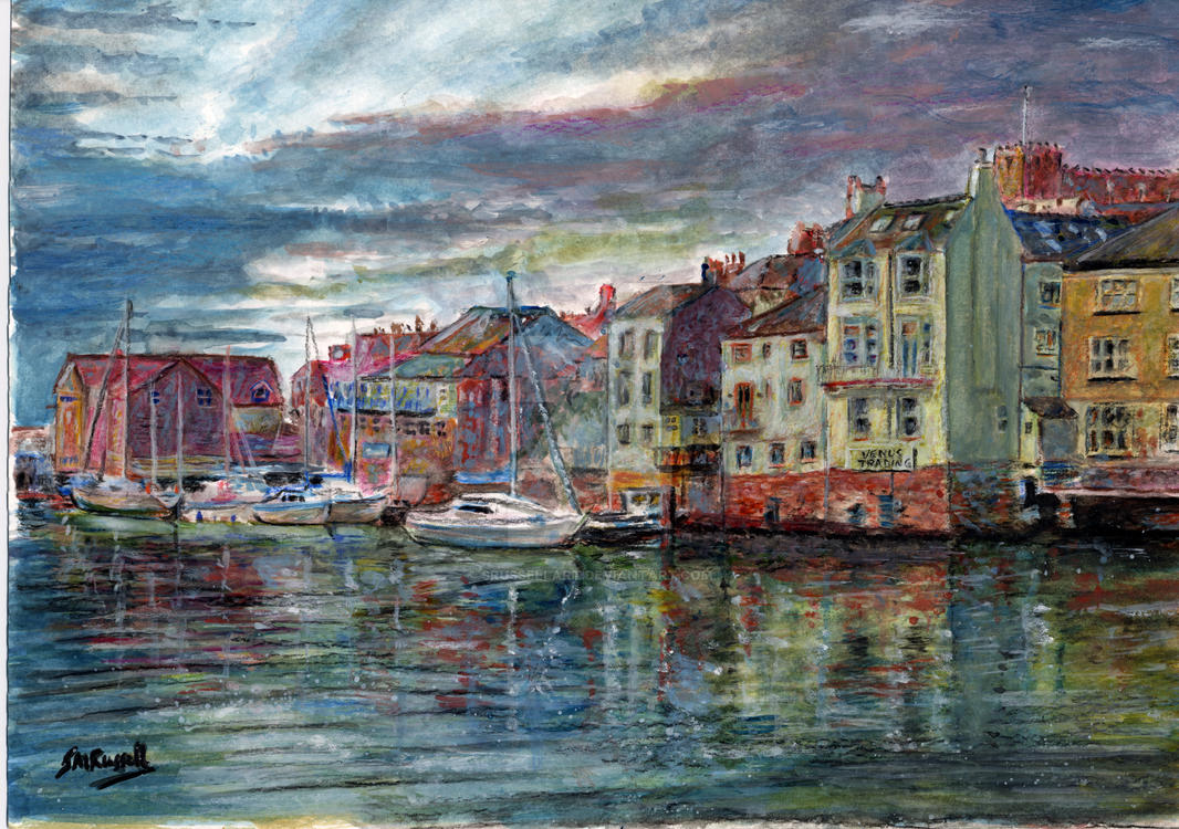 Whitby Yorkshire Coast by SRussellart