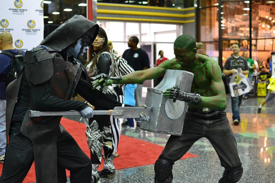 Drax The Destroyer Vs Venom: Ronan The Accuser Vs Drax The Destroyer By Mariorocks64 On