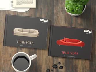 True Sofa by Yaqubi