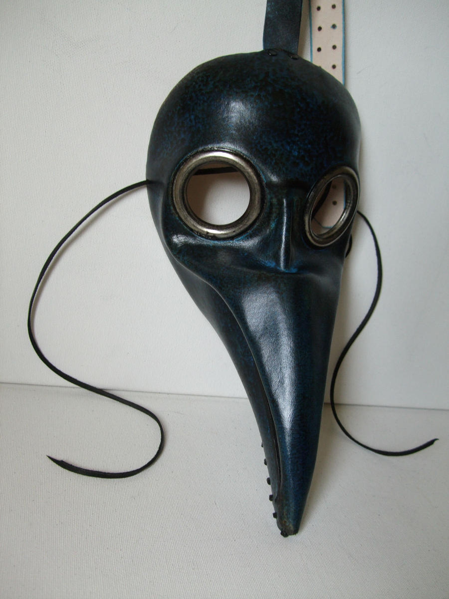 Doctor Plague Mask by Lara-Mila