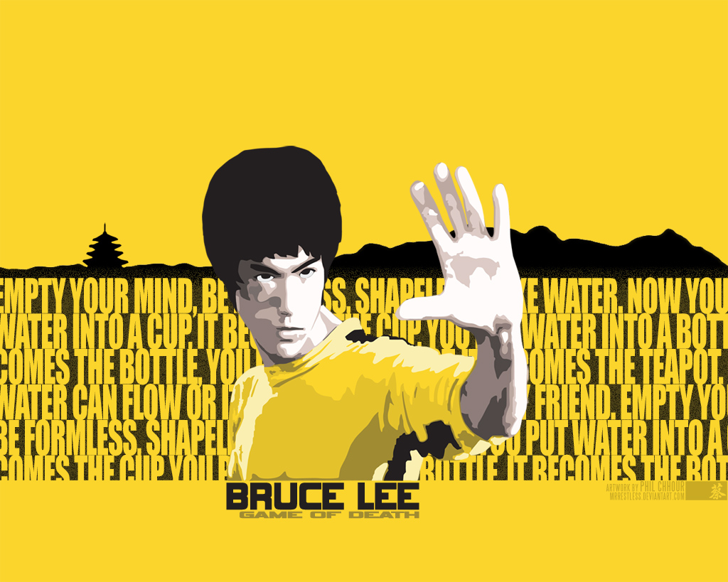 Bruce Lee Game Of Death Vector By Mrrestless On Deviantart