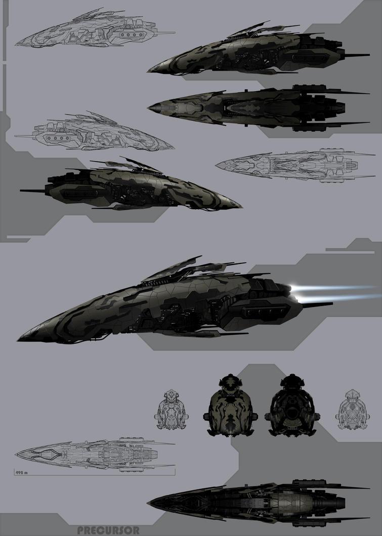 Precursor Mk.2 by Bak90