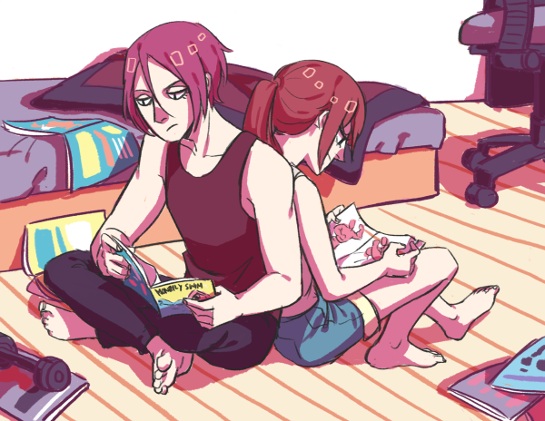 matsuoka siblings by rainberry