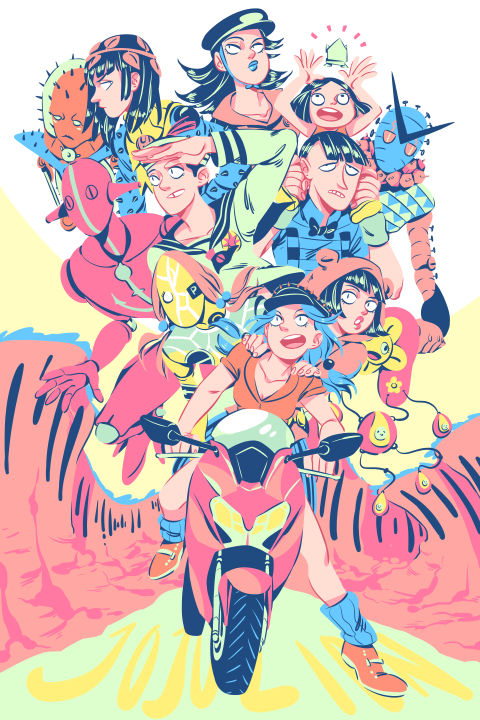 Jojolion by rainberry on DeviantArt